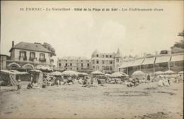 44 PORNIC / La Noëveillard - Hôtel De La Plage Et Du Golf - Les Etablissements Divers / - Pornic