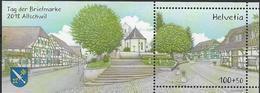 2018 Schweiz   Mi. Bl 70  **MNH  Tag Der Briefmarke - Allschwil - Schweiz