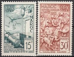N° 325 Et N° 326 - X X - ( C 908 ) - Maroc (1891-1956)