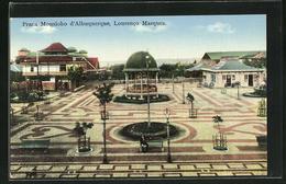 CPA Lourenco Marques, Praca Mousioho D`Albuquerque - Mozambique