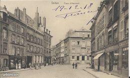 Carte Postale Ancienne De Sedan ( 08 ) La Place D'Arcourt - Sedan