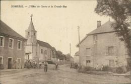 25 DOMPREL / Hôtel Du Centre Et Grande Rue / - Autres Communes