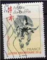 2009 Yt 4325 (o) Année Du Buffle - France