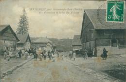 25 LIEVREMONT / Les Fontaines Et Le Bas Du Village / - Autres Communes