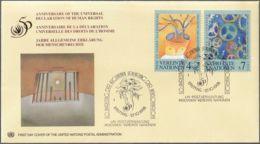 UNO WIEN 1998 Mi-Nr. 268/69 FDC - FDC