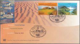 UNO WIEN 1999 Mi-Nr. 279/80 FDC - FDC