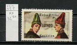 Cap Vert - Kap Verde - Cape Verde 1952 Y&T N°277 - Michel N°288 *** - 10e Edes Da Gra Et Freitas - Isola Di Capo Verde