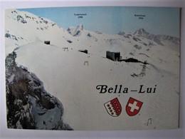 SUISSE - VALAIS - CRANS-MONTANA - Restaurant Et Installations De La Bella-Lui - VS Valais