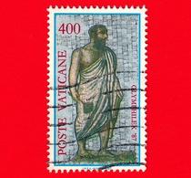 VATICANO - Usato - 1987 - Esposizione Mondiale Di Filatelia Olimpica, A Roma - 400 L. • Giudice - Vatican