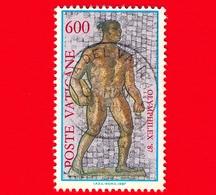 VATICANO - Usato - 1987 - Esposizione Mondiale Di Filatelia Olimpica, A Roma - 600 L. - Atleta - Vatican