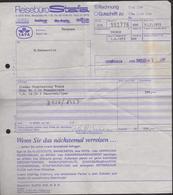 ÖSTERREICH - WIEN - 1979 - Reiseburo Stafa-Rechnung Fur Vienna Sightseeing Tours - Autriche