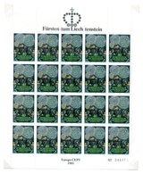 Liechtenstein Feuille Entière Du Timbre N° 705 **  A Saisir !!! - Blocks & Sheetlets & Panes