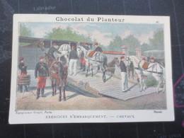 Image Chromo Publicitaire Chocolat  Du Planteur - Cioccolato