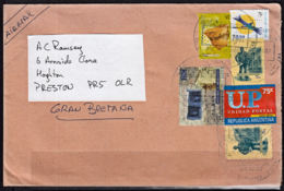Ca0219 ARGENTINA 2002, Mixed Stamps On Cover To Zambia - Buenos Aires (1858-1864)