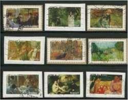 2006 Yt Adh 74 à 83 - 2006 - Les Impressionnistes - France