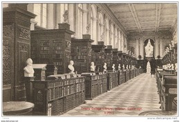 CAMBRIDGE:  TRINITY  COLLEGE  LIBRARY  INTERIOR  -  FP - Scuole