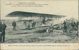 49 ANGERS / Biplan Farman Piloté Par Renaux / - Angers