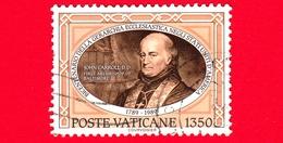 VATICANO - Usato - 1989 -  Bicentenario Della Gerarchia Ecclesiastica Negli U.S.A.- 1350 L. • J.Carroll, Primo Vescovo - Vatican