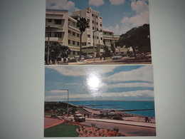 MOZAMBIQUE. (Moçambique Portugal). HÔTEL CARDOSO - PRAIA DA POLANA. 2 Cartes, Bilhete, Post Card. - Mozambique