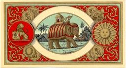Chromo - Olifant éléphant - Unclassified