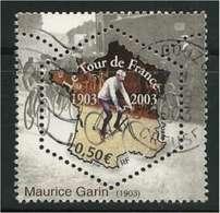 2003 Yt 3582 (o) Centenaire Du Tour De France - Maurice Garin - France