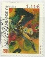 2003 Yt 3585 (o) Vassily Kandinski (1866-1944) - France