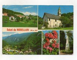 Nosellari Frazione Di Folgaria (Trento) - Saluti Da - Cartolina Multipanoramica - Viaggiata Nel 1984 - (FDC16305) - Trento
