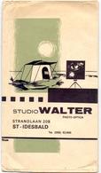 Omslag Enveloppe Foto's Pub Reclame Foto Studio Walter - St Idesbald - Werbung
