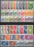 REUNION : PAYSAGES N° 125/148 + 163/174 + 247/248 NEUFS * GOMME CHARNIERE - TRES FRAIS - Reunion Island (1852-1975)