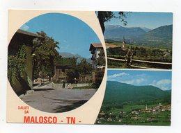 Malosco (Trento) - Saluti Da - Cartolina Multipanoramica - Viaggiata Nel 1981 - (FDC16306) - Trento