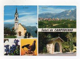 Campodenno (Trento) - Saluti Da - Cartolina Multipanoramica - Viaggiata Nel 1988 - (FDC16307) - Trento