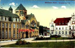 Cpa  Mulheim Ruhr Synagoge Und Post Synagogue 15/16 - Judaísmo