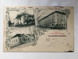 AK  CROATIA  KRAPINSKE TOPLICE   WEISS & DREYKURS  1904. - Croazia