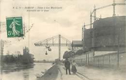 76 Seine Maritime : Elbeuf  Usine à Gaz Municipale - Ensemble Sur Le Quai  Réf 6812 - Elbeuf