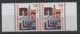 PIA - GERMANIA : 2000 : Serie Ordinaria - Curiosità - Ponte In Pietra Di Regensburg - (Yv 1973a) - [7] Repubblica Federale