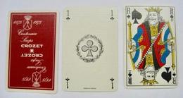 JEU DE 32 CARTES SANS ETUI 1875-1975 CENTENAIRE SIROPS CROZER - Cartes à Jouer Classiques