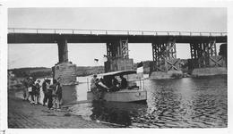 ¤¤  -  LUXEMBOURG  -  REMICH   -  Cliché D'un Bateau Sous Un Pont     -  Voir Description  -   ¤¤ - Remich