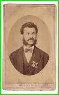 CDV Photografie: Gebrüder Ferner, Neustadt A/H - Portrait, Feiner Junger Herr Mit Orden Mann Homme Man Gentleman  #0273 - Photos