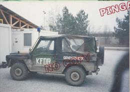 Au Plus Rapide Opération Tridents Kosovo Macédoine Nato Otan Matériel Engin Militaire Gendarmerie - War, Military