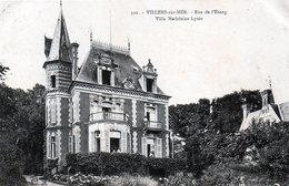 CPA 14 - VILLERS SUR MER - 302 RUE DE L'ETANG - VILLA MADELEINE LYSEE - Villers Sur Mer