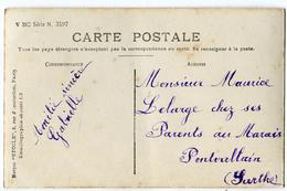 CPA Exp.  à Maurice Lelarge De Pontvallain Sarthe  - Fantaisie FEMME - Pontvallain