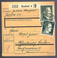 PAKETKARTE - KREFELD 1942 - - Briefe U. Dokumente