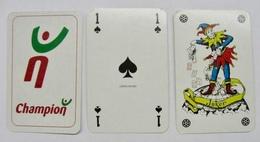 JEU DE 32 CARTES + 1 JOKER SANS ETUI CHAMPION / CARTA MUNDI - Cartes à Jouer Classiques