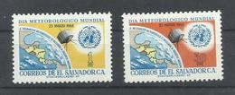 SALVADOR YVERT   727/28      MNH  ** - El Salvador