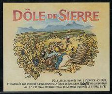 """Etiquette De Vin // Dôle De Sierre, Bandes Dessinées Album """"Culbutes"""" - Fumetti"""