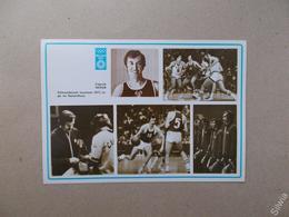 Sergey 1981 Champion Olympique De Basketball De Belov - Basket-ball