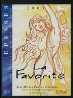 Etiquette De Vin // Epesses, La Favorite - Erotic