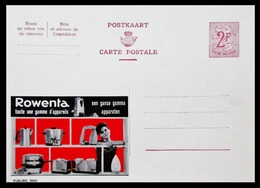 BELGIQUE ENTIER CP PUBLIBEL N° 2060. ROWENTA .   . NEUF - Stamped Stationery