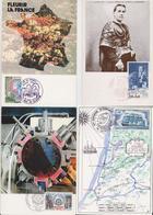 FRANCE - Beau Lot De 102 Cartes Postales Maximum - Maximum Post Card - Cartes-Maximum