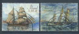 Aland 2015 N° 402/403 Oblitérés  Bateaux Voiliers - Aland